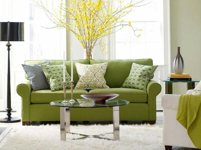 tapis-salon-moderne-le-tapis-design-en-tendance-vert-lumineuse