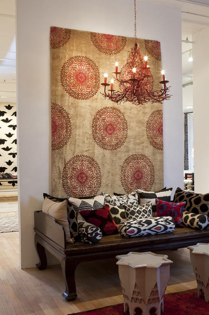 tentures-murales-grande-tapisserie-murale-déco-mandalas