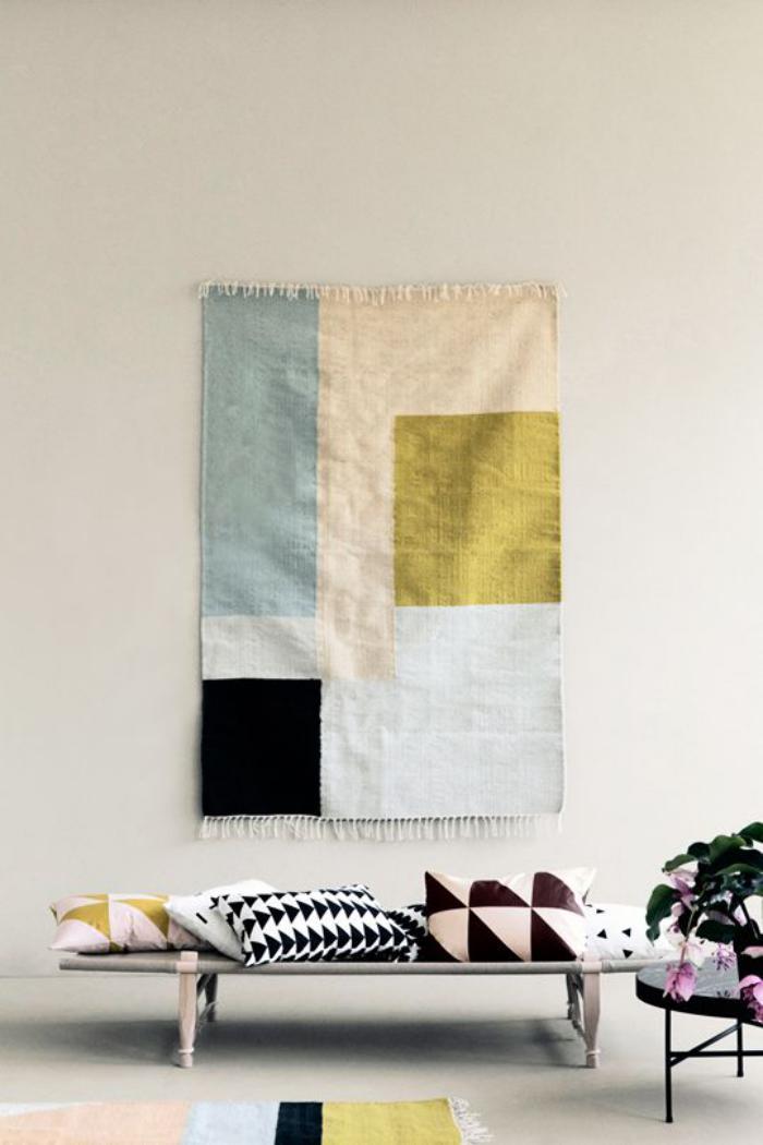 tentures-murales-tapisserie-murale-motifs-géométriques