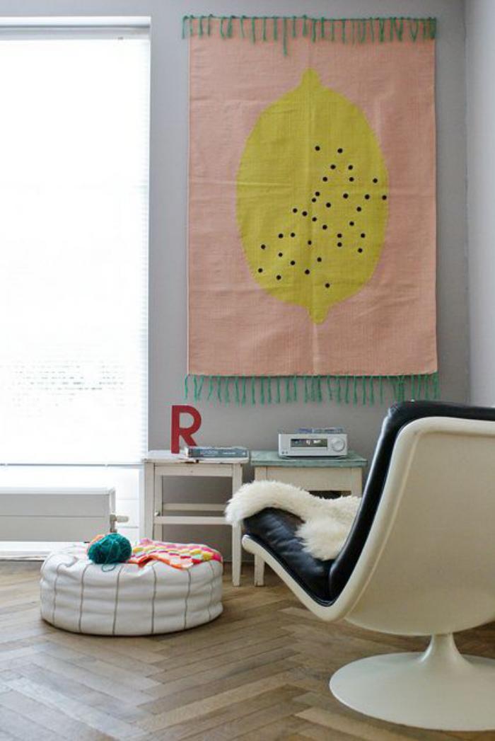 tentures-murales-toile-décorative-suspendue-murale