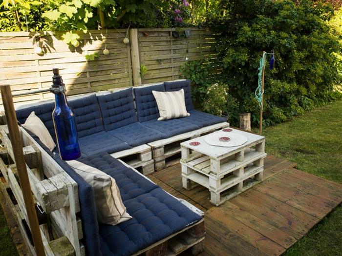 Les Meilleures Id Es Pour La Terrasse En Palette Terrasse En Palette De Bois