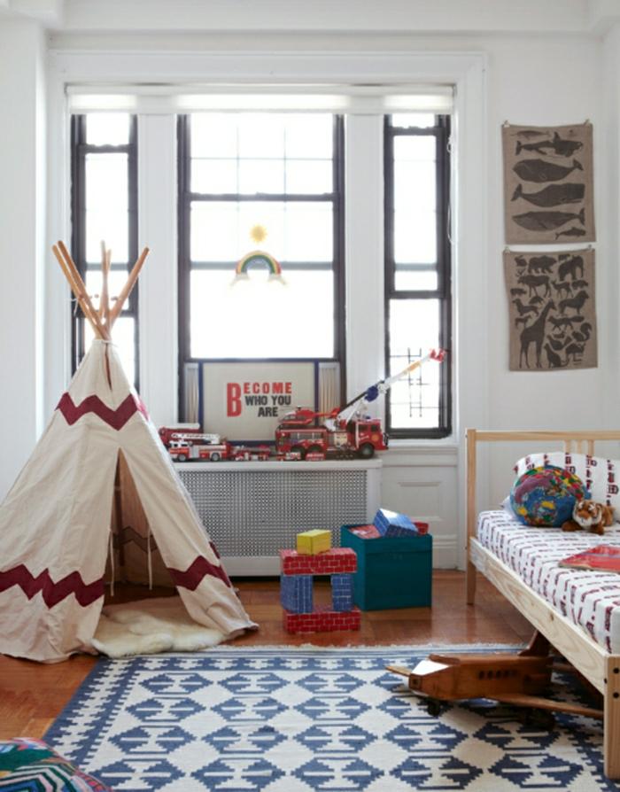 tipi-pour-enfant-tipi-enfants-idée-intérieur-jouer-dans-la-chambre-tapis