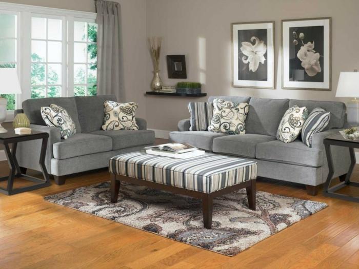 une-idée-peinture-salon-salle-à-manger-amenagement-salon-gris