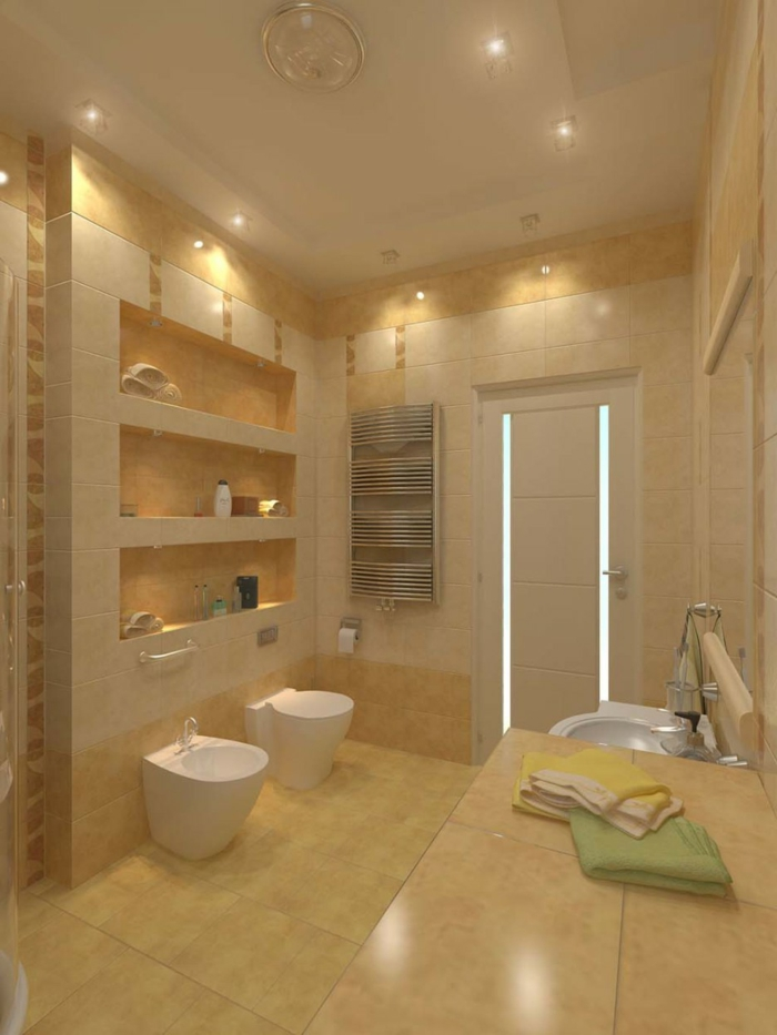 Beton Cir Sol Salle De Bain. Trendy Beautiful Opus Travertin Leroy ...