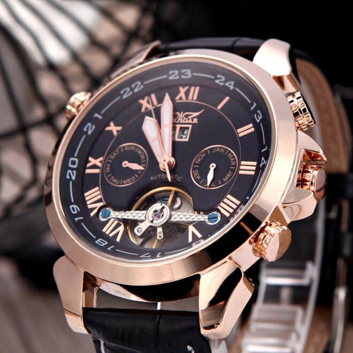 À-la-mode-montre-rose-doré-belle-photo-montre-rose-gold