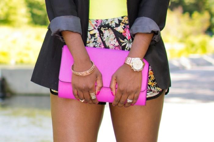 À-la-mode-montre-rose-doré-cool-montre-rose-gold-sac-a-main-rose