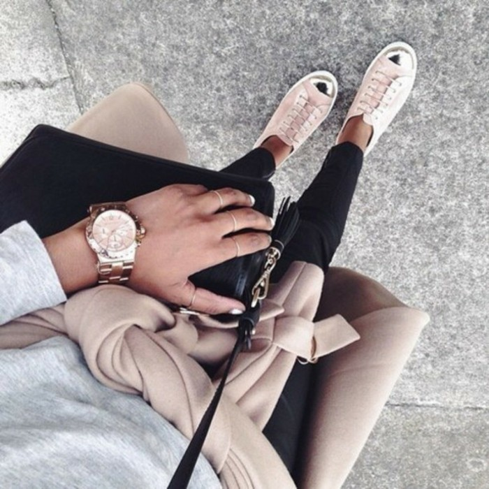À-la-mode-montre-rose-doré-montre-rose-gold-cool-tendance