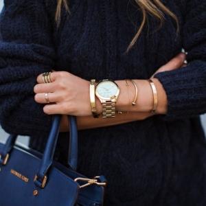 La montre doré rose est de nouveau en tendance!