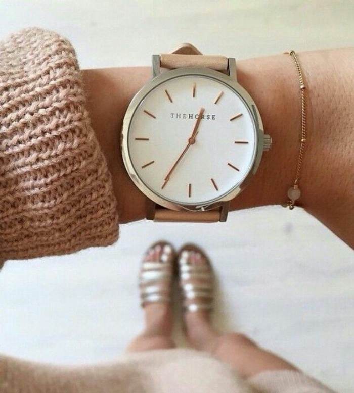 À-la-mode-montre-rose-doré-montre-rose-gold-originale