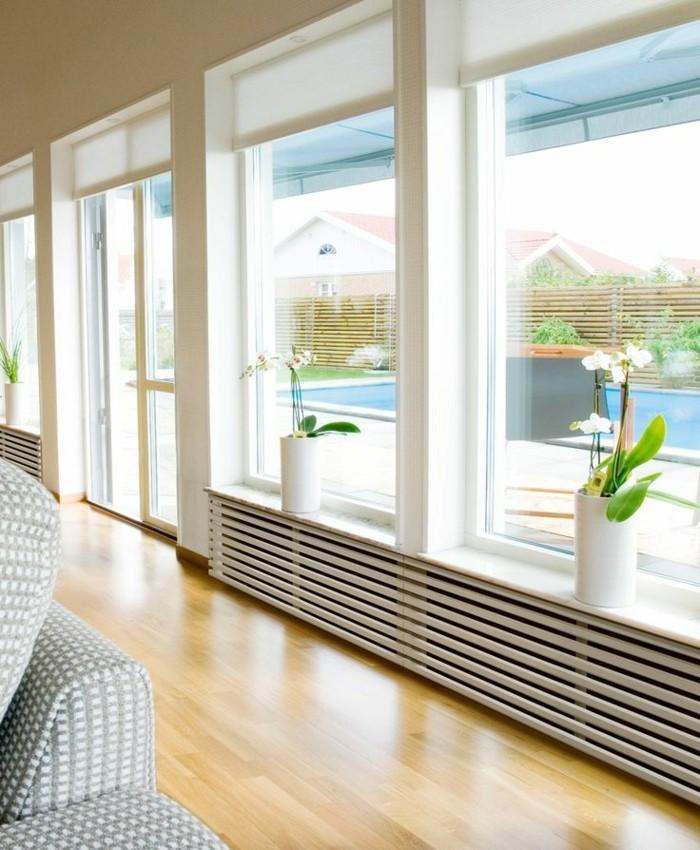 Voyez les meilleurs design de cache radiateur en photos for Radiateur sous fenetre