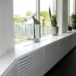 Un cache-radiateur, beaucoup de possibilités. Voyez les meilleurs design!
