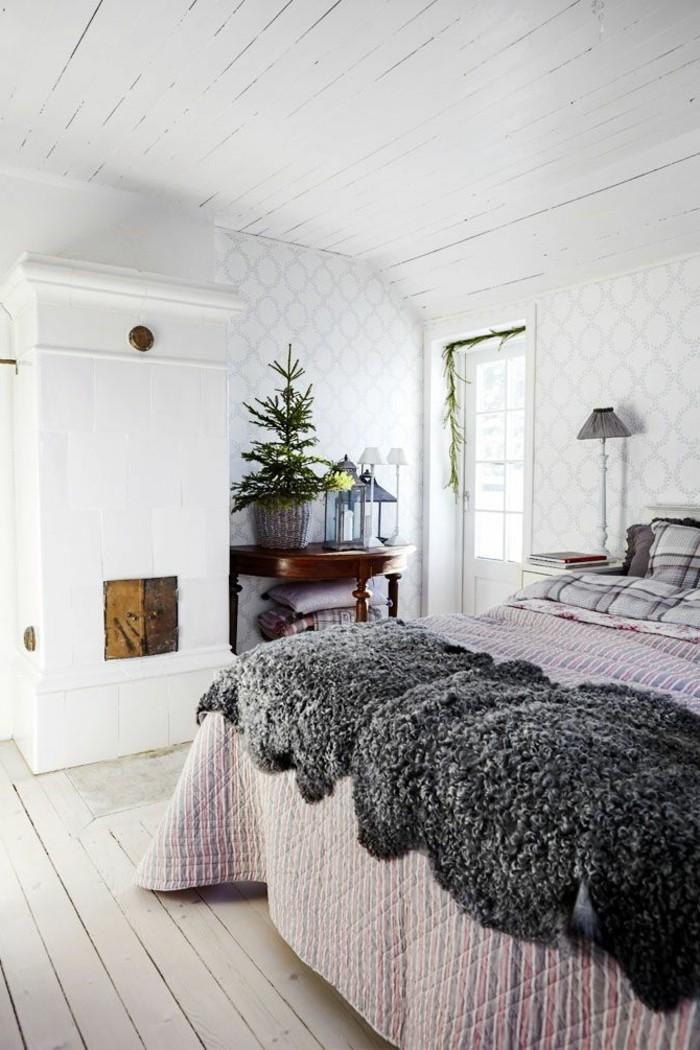 Chambre scandinave beige design de maison - Meuble suedois design ...