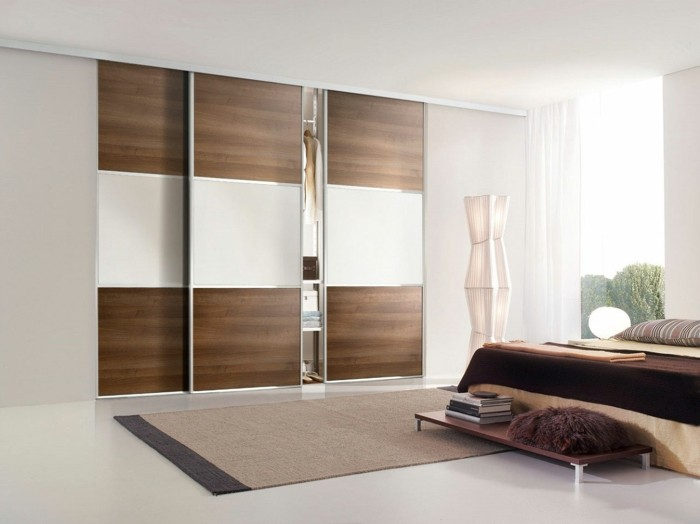 Awesome Placard Marron Fonce Chambre Pictures - House Design ...
