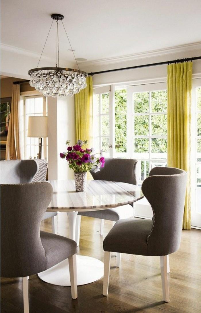 Nos propositions pour votre salle manger compl te en 42 photos - Rideaux de salle a manger ...