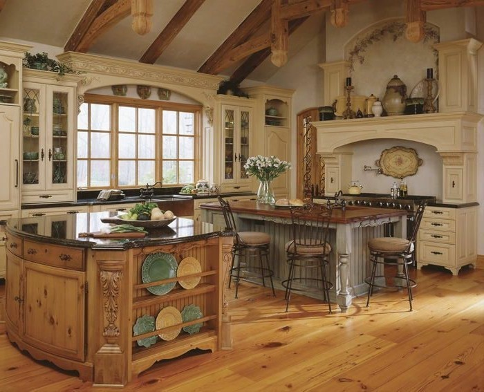 tuscan kitchen decorating ideas photos la cuisine arrondie dans 41 photos pleines d id 233 es 26069