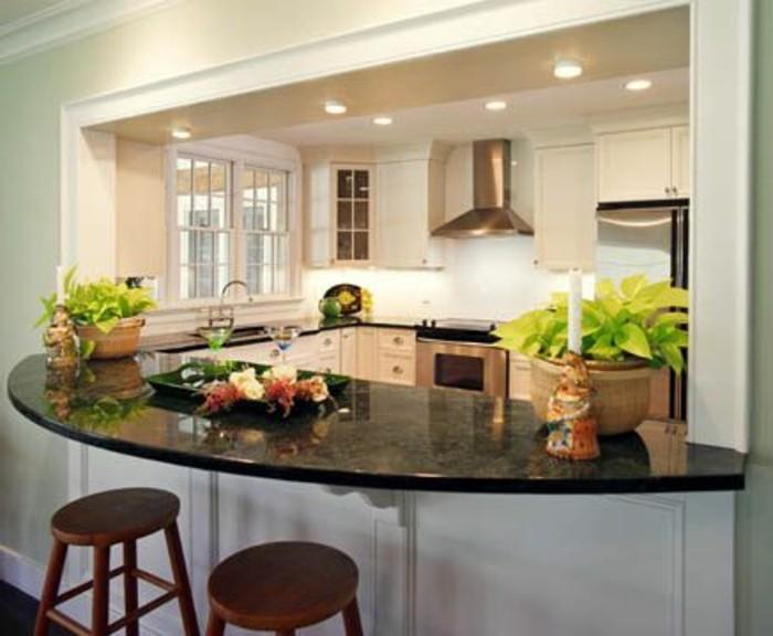 La cuisine arrondie dans 41 photos pleines d 39 id es for Plan de la cuisine