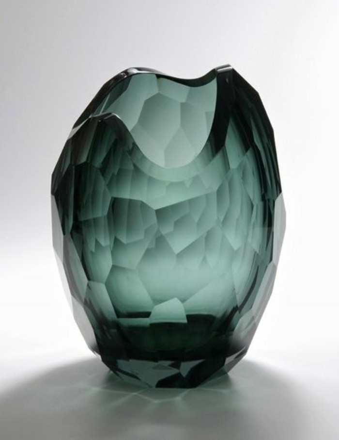 Le grand vase en verre dans 46 belles photos - Vase decoratif design ...