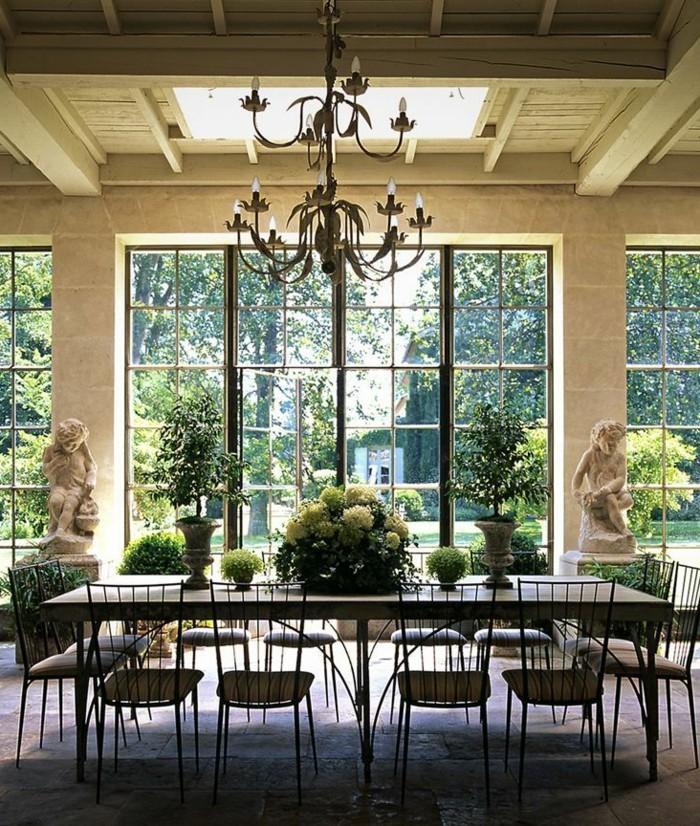 0-jolie-salle-à-manger-complète-conforama-salle-a-manger-de-style-retro-chic-fenetres-grandes
