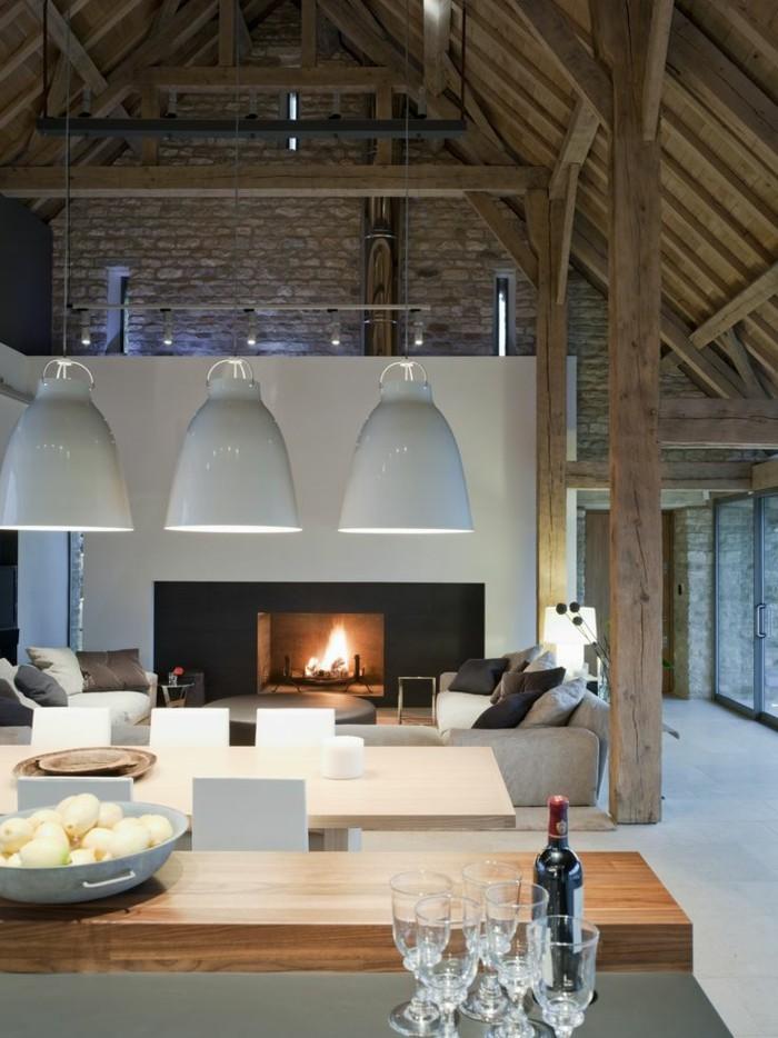 Mille et une id es pour le salon style industriel en 44 for Interieur style industriel