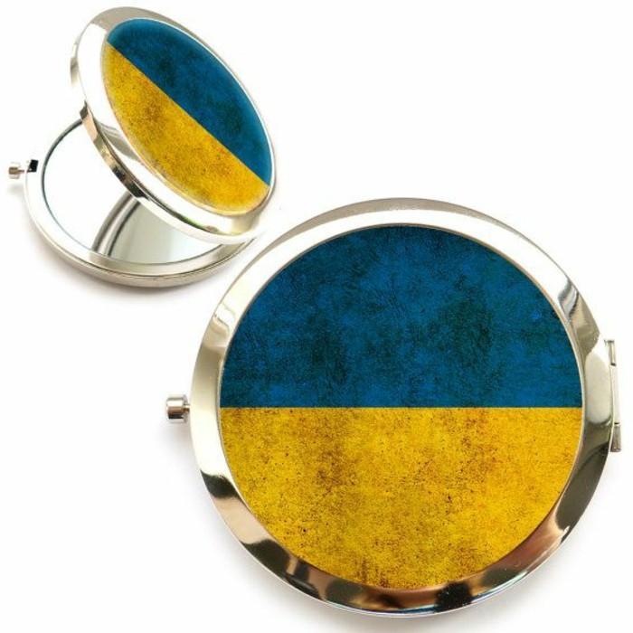 0-miroir-poche-pas-cher-bleu-jaune-joli-miroir-rond-personnalisé-comment-choisir-un-miroir