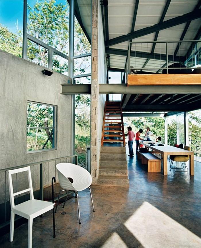 0-salon-et-salle-de-séjour-avec-sol-en-beton-murs-beiges-fenetres-grandes-interieur-moderne