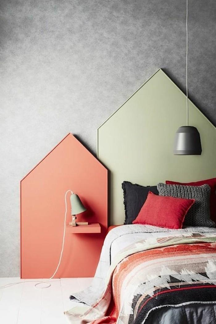 la t te de lit originale en 46 photos. Black Bedroom Furniture Sets. Home Design Ideas