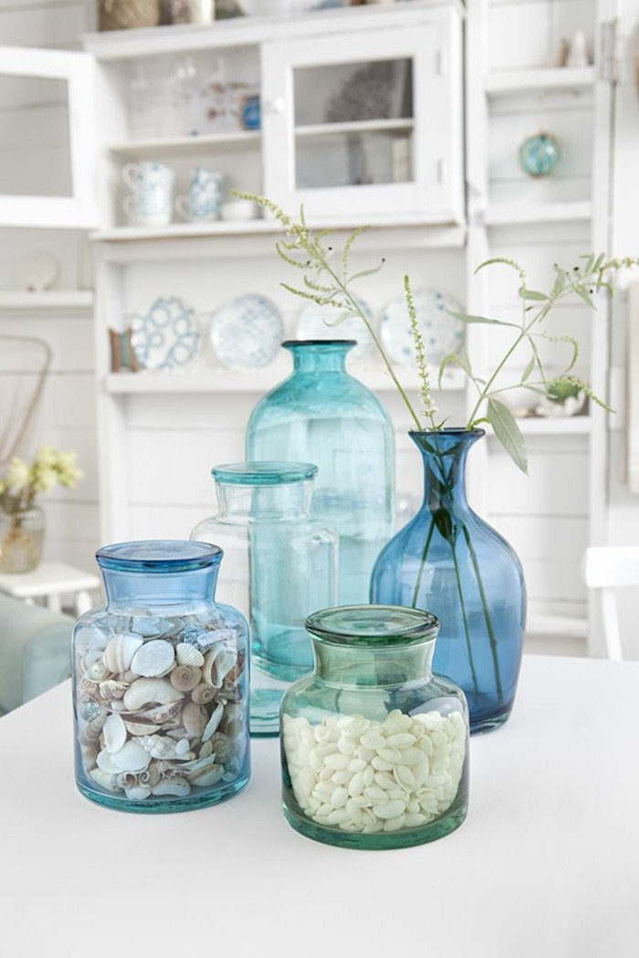 Le grand vase en verre dans 46 belles photos - Decoration avec photo ...
