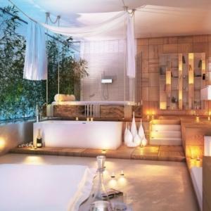 Milles idées pour la salle de bain exotique! Comment l'aménager bien?