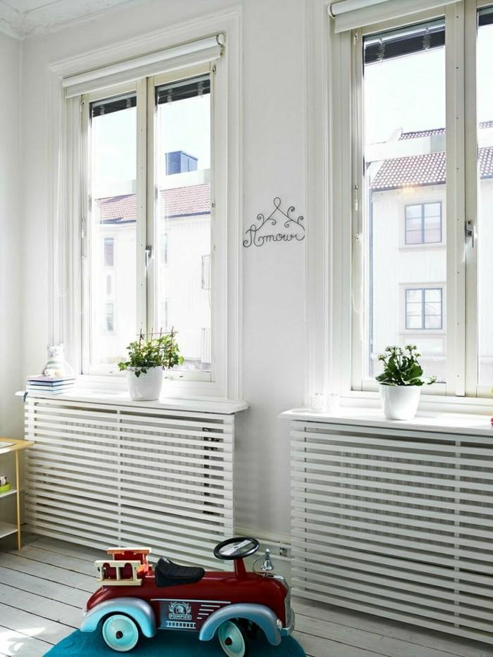 1-cache-radiateur-fonte-cacher-un-radiateur-comment-cacher-un-radiateur-en-bois-blanc