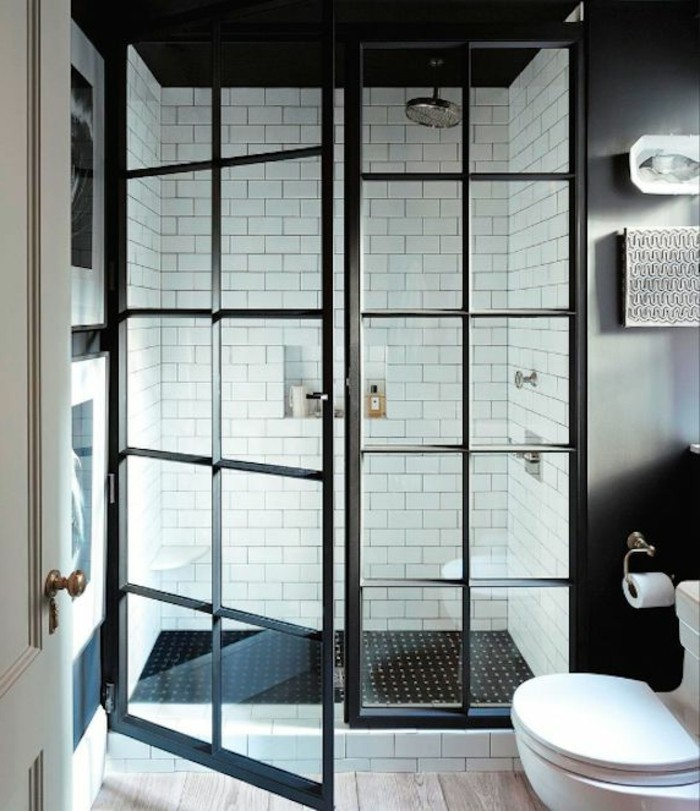 exemple faience salle de bain. Black Bedroom Furniture Sets. Home Design Ideas