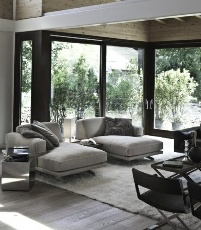 salon deco zen best ides avec la couleur lin pour le salon with salon deco zen fabulous idee. Black Bedroom Furniture Sets. Home Design Ideas