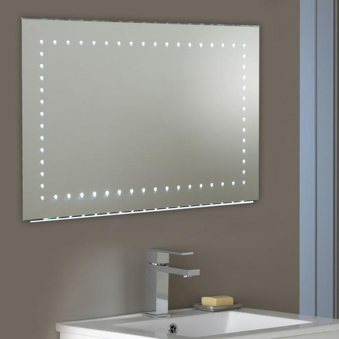 Mille et une id es pour choisir le meilleur miroir lumineux for Miroir baroque pour salle de bain