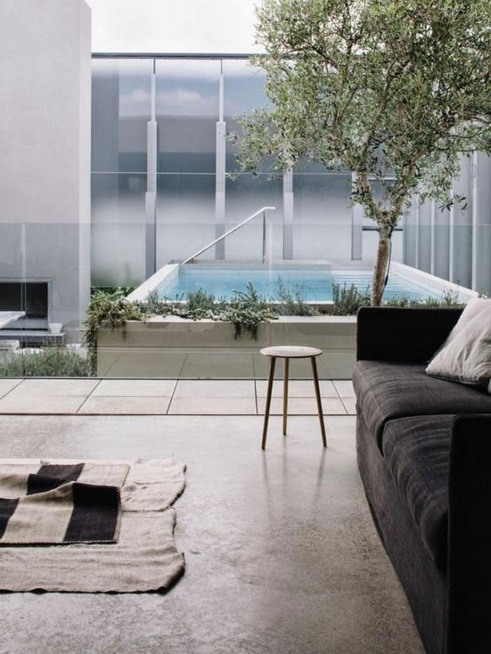 1-joli-idee-deco-salon-ambiance-zen-chambre-adulte-zen-sol-beton-gris-canape-gris