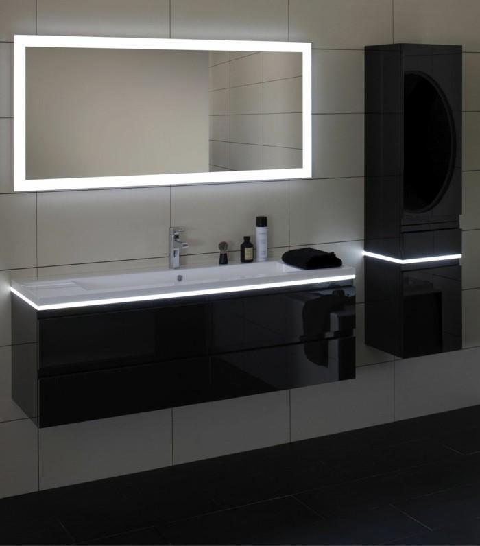 Mille et une id es pour choisir le meilleur miroir lumineux Miroir salle de bain lumineux