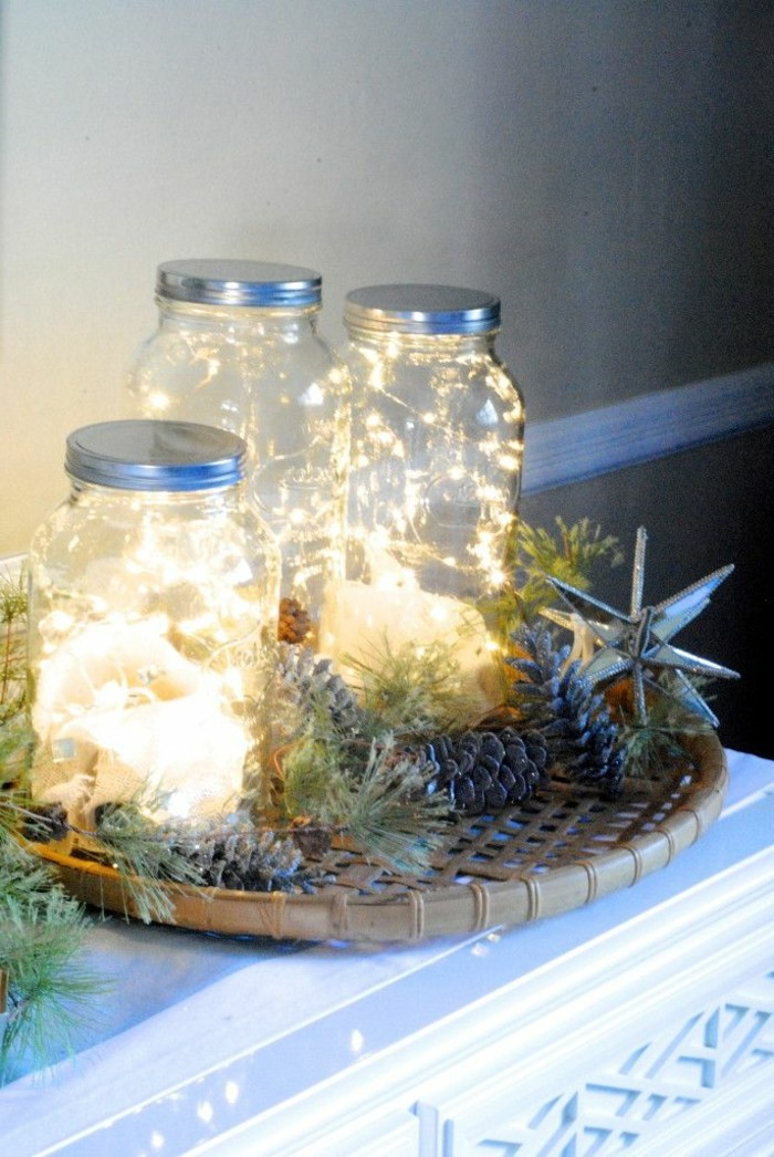 1-jolie-decoration-avec-guirlandes-lumineuses-comment-bien-decorer-pour-noel-guirlande-lumineuse-ikea