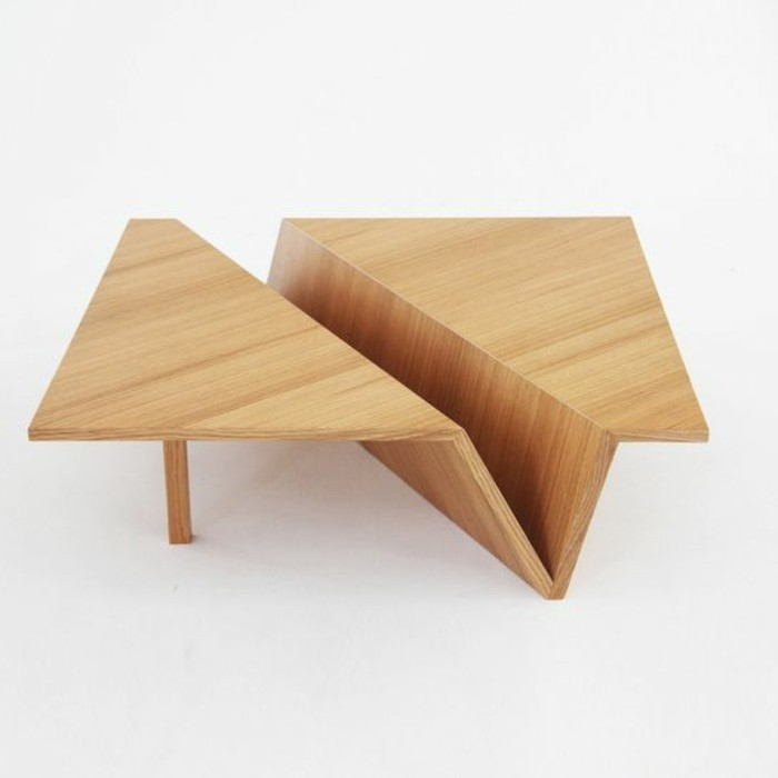 Belle table en bois for Table bois clair