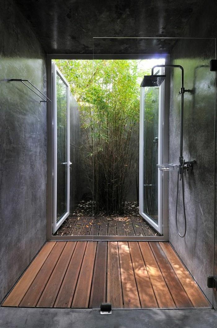 Comment am nager la salle de bain exotique 40 id es for Salle de bain en bois exotique