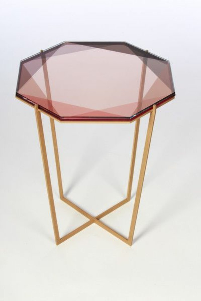 Table basse salon fly for Verre pour table basse