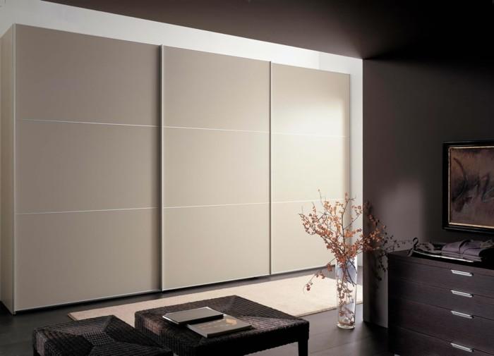 1-jolies-portes-de-placard-de-couleur-taupe-pour-le-placard-dans-le-salon-marron-foncé