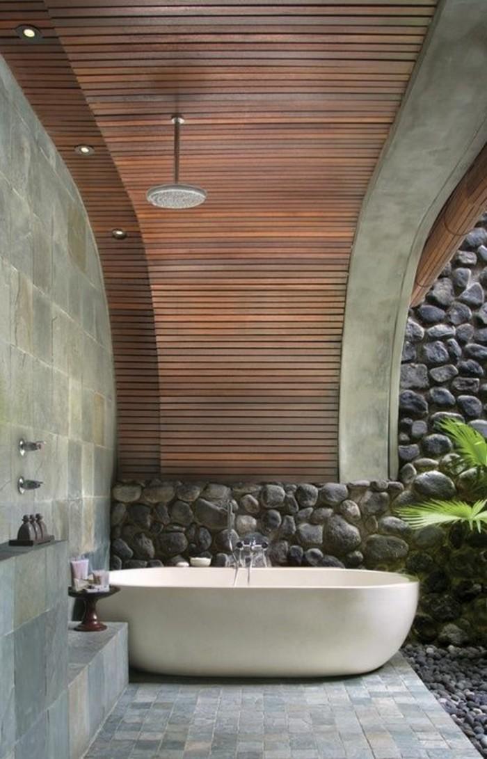 1-meuble-salle-de-bain-teck-ikea-carrelage-gris-sur-le-sol-dans-la-salle-de-bain