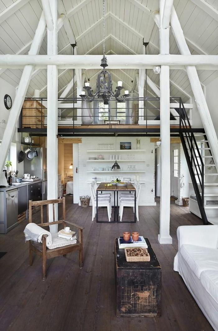 1-meuble-style-industriel-pas-cher-pour-loft-et-associé-sol-en-planchers-en-bois-plafond-sous-pente