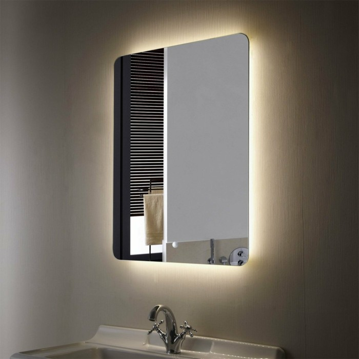 Excellent with grand miroir mural leroy merlin for Miroir salle de bain leroy merlin