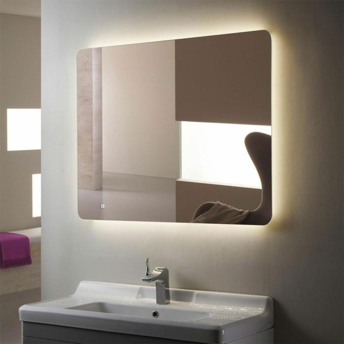 Miroir lumineux salle de bain but great carrelage de for Leroy merlin miroir lumineux