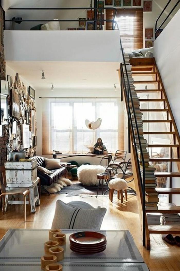 1-moderne-meuble-style-industriel-pas-cher-pour-loft-et-associé-comment-bien-amenager-le-saln