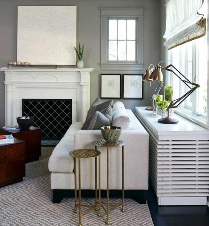 Voyez les meilleurs design de cache radiateur en photos - Cacher un lit dans un salon ...