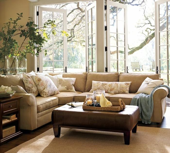 1-salon-moderne-de-couleur-taupe-avec-portes-en-verre-porte-kz-pliante-et-porte-pliante-leroy-merlin