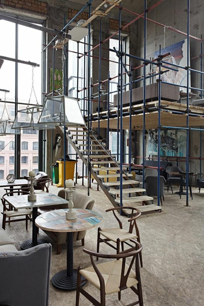 1-sol-en-carrelage-beige-pour-le-salon-et-meuble-style-industriel-pas-cher-pour-loft-et-associé