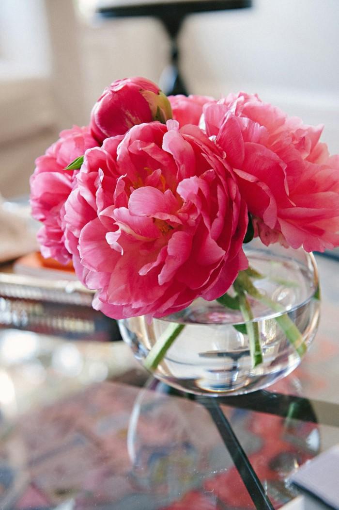 1-vase-cyclindrique-verre-avec-fleurs-roses-deco-case-transparent-pour-le-salon