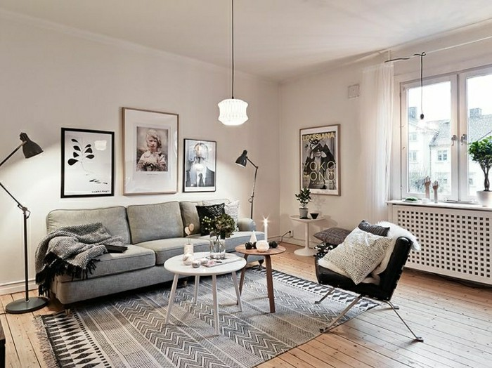 Comment cr er une ambiance scandinave 45 id es en photos - Cosy home deko ...