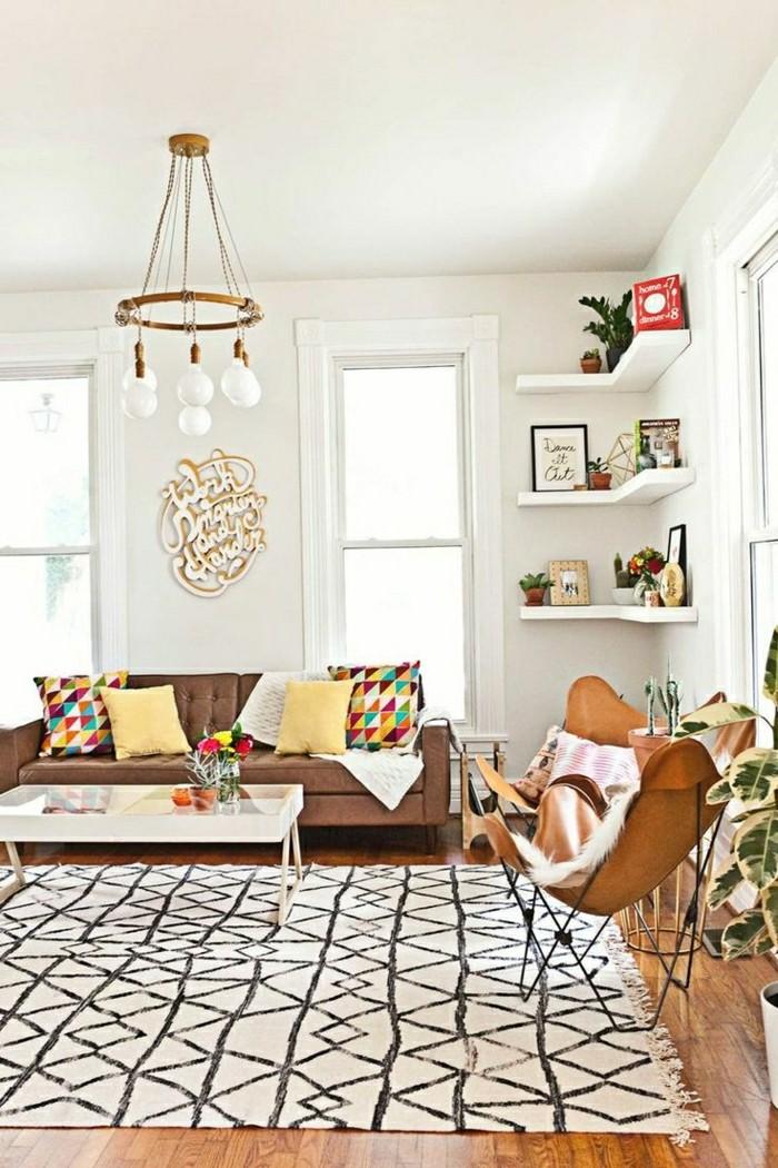 Le tapis design la meilleure option pour votre chambre design for Image joli salon